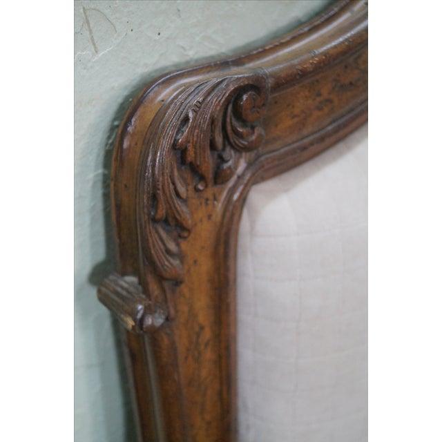 Auffray Custom Quality French Louis XV Headboard - Image 8 of 10