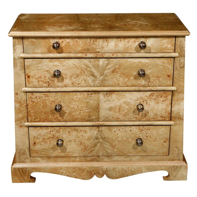 Paul Marra European Style Chest in Mappa Vaneer - Image 1 of 8