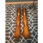 Image of 2 Eames Leg Splint Custom Stand Evans Sculpture