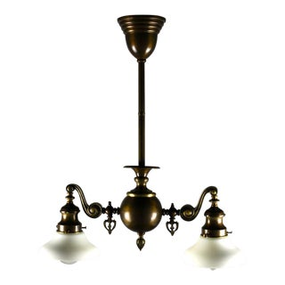 Mitchell Vance & Co. 2-Light Inverted Gas Fixture
