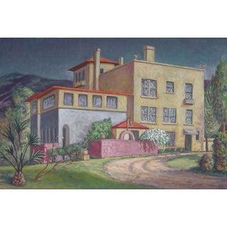 Mediterranean Villa by Geneva Flores Hart Fell