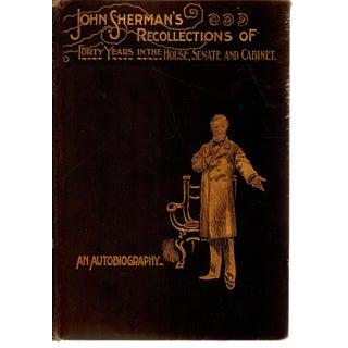 """John Sherman's Autobiography Vol II"" Victorian Book"