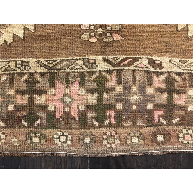 "Bellwether Rugs Turkish Oushak Runner- 5'3"" X 10'11"" - Image 3 of 9"
