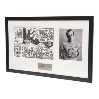 Keith Haring Serigraph, New York 1982