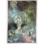 Image of 'Grows Cold' Abstract Painting