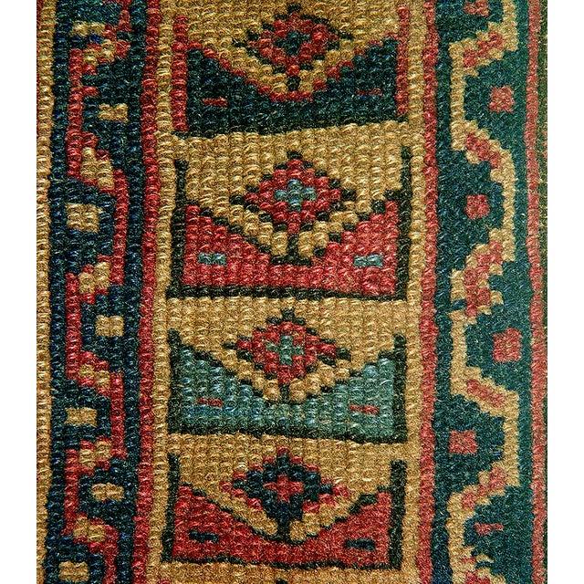 Old Caucasian Oriental Rug - 2′10″ × 3′11″ - Image 8 of 9