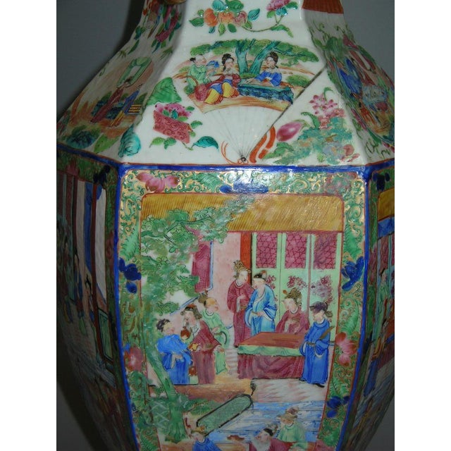 Image of 19th Century Chinese Famille-Rose Porcelain Vase