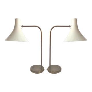 Greta Von Nessen Mid-Century Lamps- A Pair