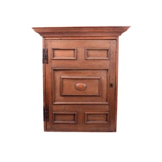Large Arts and Crafts Rustic Farmhouse Wood Hanging Wall Cabinet Rustic Wall Cupboard