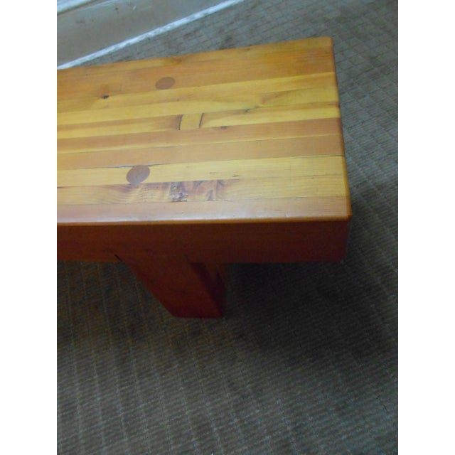 Image of Midcentury Studio Butcher Block Coffee Table