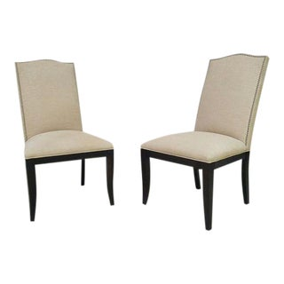 Crate & Barrel Colette II Chairs - A Pair