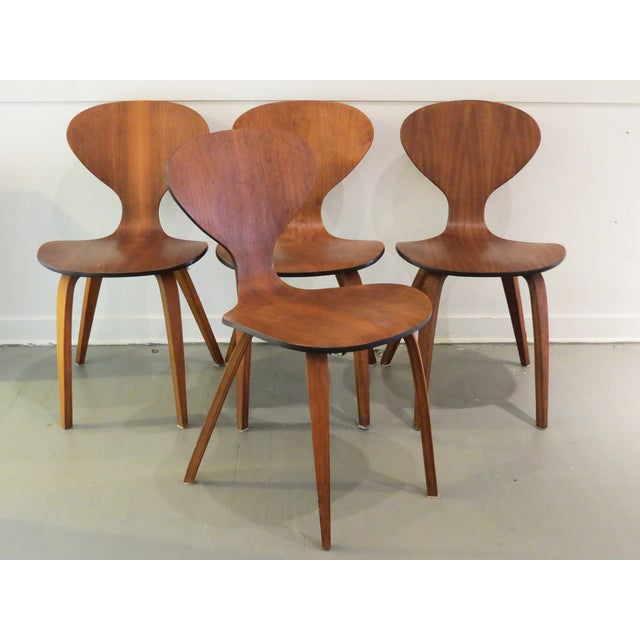 Vintage Cherner Dining Chairs - Set of 4 - Image 8 of 9