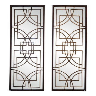 Architectural Style Mirrors - A Pair