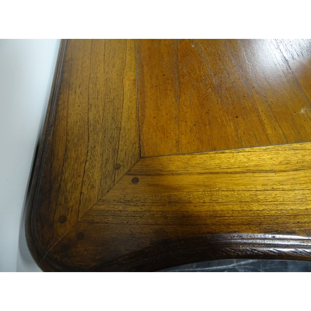 Hekman French Country Oak Writing Desk - Image 10 of 11