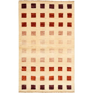 "Gabbeh Hand-Knotted Rug - 3'2"" X 5'1"""