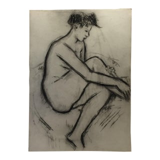 1940 Seated Nude Study