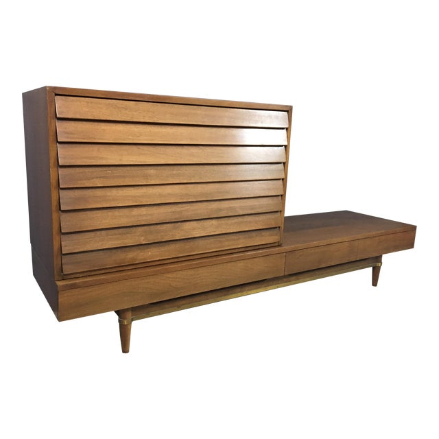 Merton Gershun Modular Drawer & Bench - A Pair - Image 1 of 8