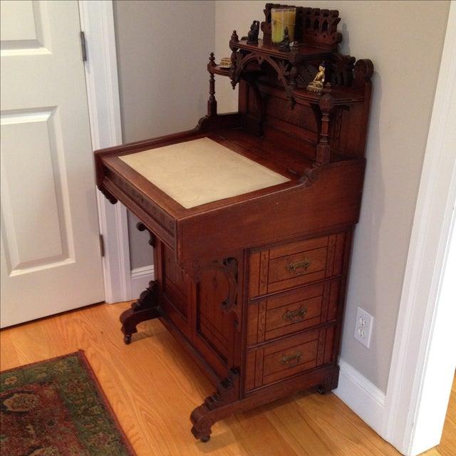 Antique Secretary Desk - Image 5 of 7
