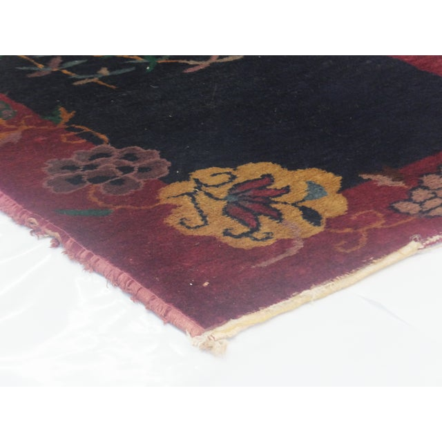 Leon Banilivi Art Deco Chinese Rug - 2′ × 3′10″ - Image 4 of 4