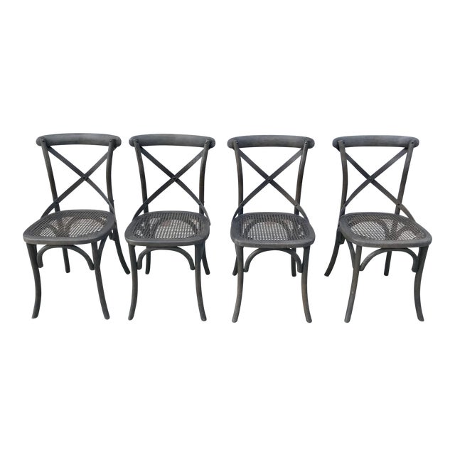 Restoration Hardware Madeleine Side Chairs - Set of 4 - Image 1 of 6