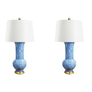 Twig Table Lamps - A Pair