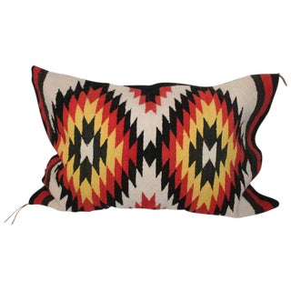 Navajo Indian Weaving Eye Dazzler Bolster Pillow