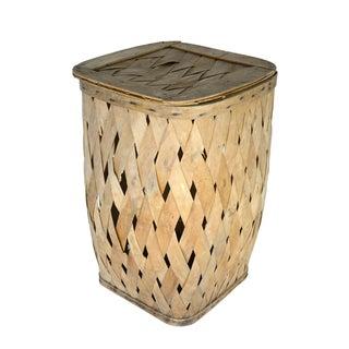 European Wooden Basket
