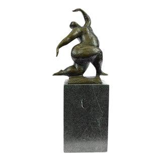 Abstract Woman Bronze Sculpture