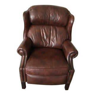 Hancock & Moore Leather Recliner