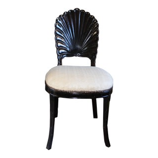Antique Shell Back Chair
