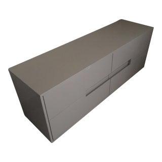 CB2 Grey Lacquer Dresser