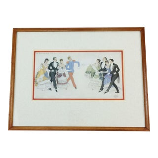 "Framed Print ""Le Quadrille Des Lanciers"" Paris, 1937"