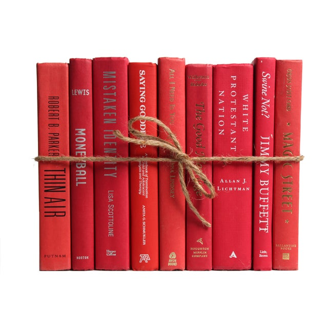 Modern Red ColorPak Of Books - Image 1 of 3
