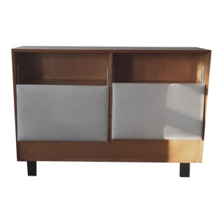 1950s George Nelson Storage Headboard