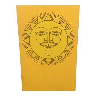 Vintage Sun Wall Art
