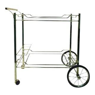 Design Institute of America Brass Bar Cart