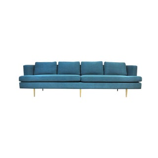 Dunbar Brass Legged Sofa by Edward Wormley