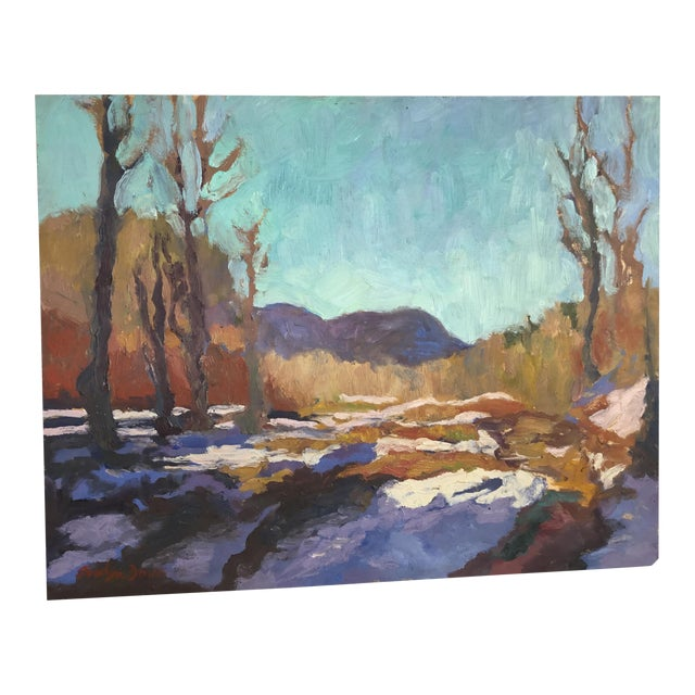 Jocelyn Davis Plein Air Painting - Image 1 of 11