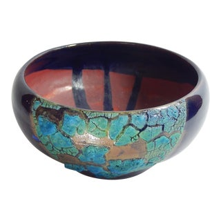 Hand Thrown Earthenware Bowl #21 by Andrew Wilder