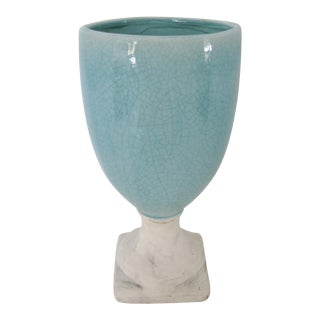 Ceramic Glazed Urn Vase