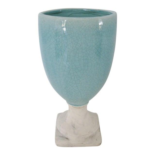 Image of Ceramic Glazed Urn Vase