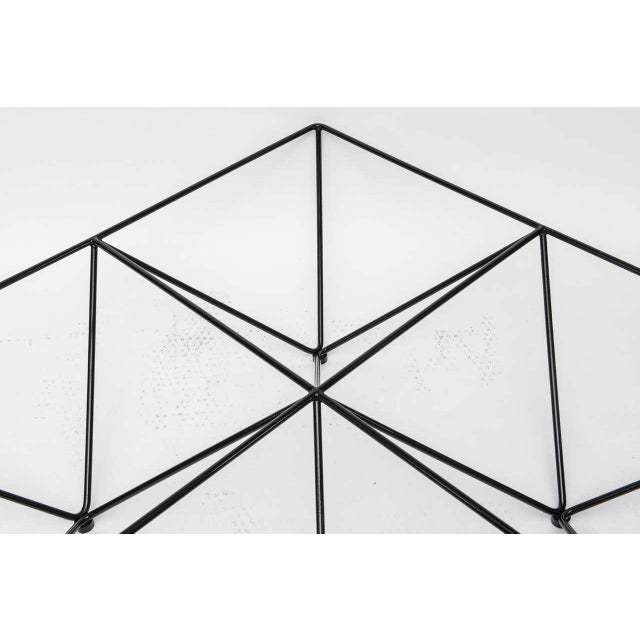 Minimalist Geometric Paolo Piva Alanda Coffee Table - Image 9 of 10
