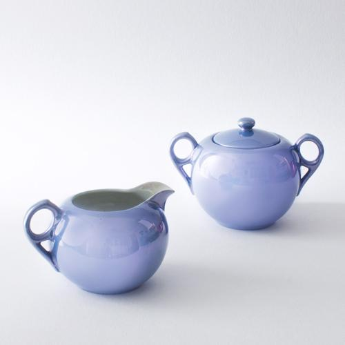 Pearlescent Cream and Sugar Set - Image 3 of 3