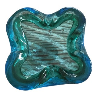 Mid-Century Murano Glass Ashtray Bowl