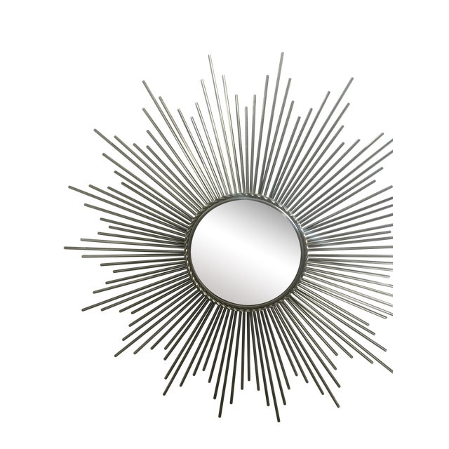 Sunburst Mirror, Made from Nickel - Image 1 of 6