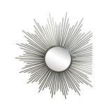 Image of Sunburst Mirror, Made from Nickel