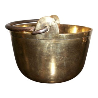 Miniature Brass Bucket