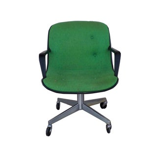MCM Green Vintage Office Chair by Steelcase