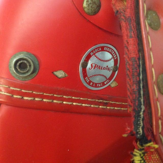 Vintage 1960s Red Tartan Spalding Golf Bag & Clubs - Image 7 of 7