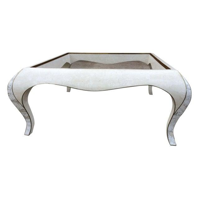 Maitland Smith Tesselated Stone Coffee Table Chairish